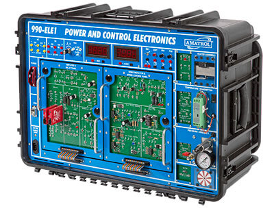 Portable Power and Control Electronics Learning System Image