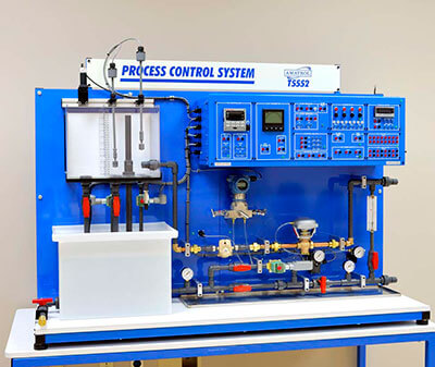 Level / Flow Process Control Learning System Image