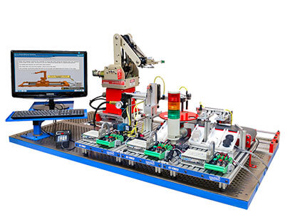 Smart Factory Tabletop Mechatronics System Image
