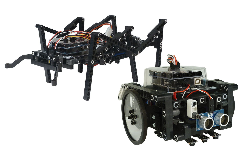 2-in-1 Arduino Robot Kit Image