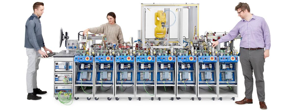 Amatrol Smart Factory Image