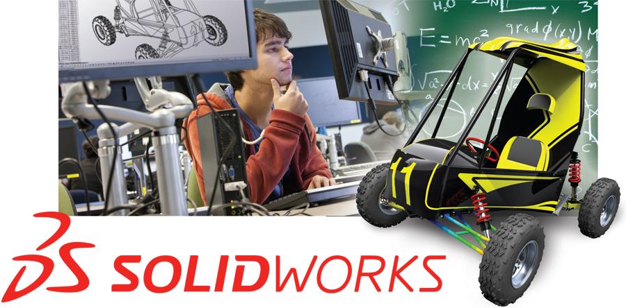 SolidWorks Modeling Software Image